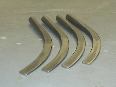 4 - Pipe Fitter Steel Banana Wedges Pipefitter Tools - 2 Pair