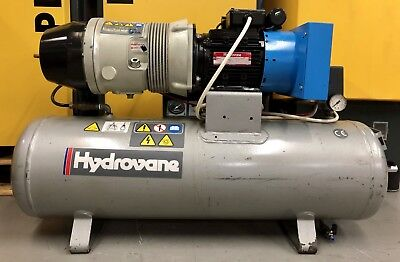 Hydrovane 502 Hypac Receiver Mounted Rotary Vane Compressor With Dryer & Filters