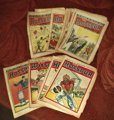 'The Hotspur' .  11 Issues.  1945 - 1948.