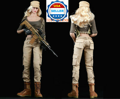 "1/6 Tactical Army Military Combat Suit Set B For 12"" PHICEN Hot Toys Figure❶USA❶"