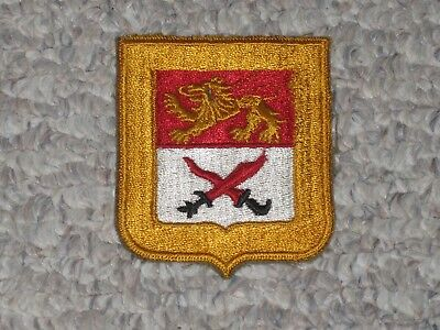 WW2 US Army 15th or 17th Cavalry Reconnaissance Squadron Patch WWII Cut Edge