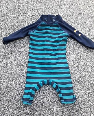 Boys 6-9 months Swimming Costume Swimsuit Uv Protection Body Sun Suit