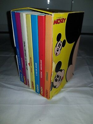Coffret LE JOURNAL DE MICKEY 7 mini livres photo