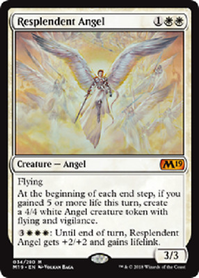 MTG - Core Set 2019 (M19) - White Cards Numbers 001 to 042