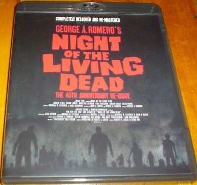 NIGHT OF THE LIVING DEAD (1968) - Happinet Blu-ray / George A Romero / Horror