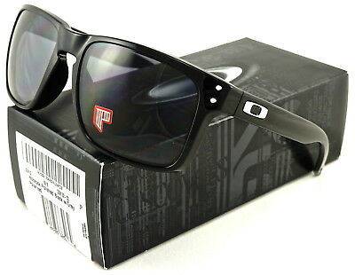 1f8eb1725c8 NEW Oakley Holbrook Sunglasses Polished Black l Grey Polarized OO9102-02