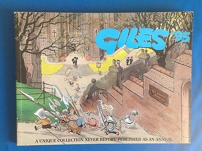 Daily And Sunday Express Giles '95 Cartoon Annual