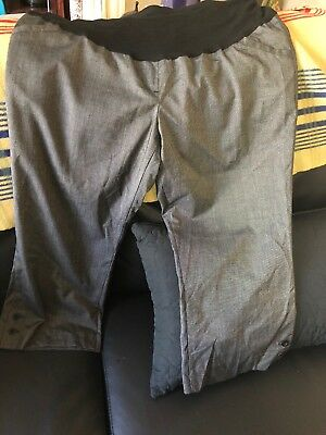 Two Hearts Maternity Dressy Career Capris Size Extra large