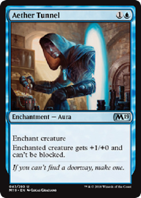 MTG - Core Set 2019 (M19) - Blue Cards Numbers 043 to 084