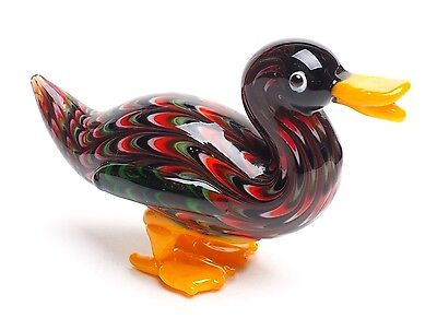 Fitz And Floyd Glass Menagerie Duck-New In Box
