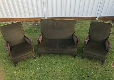 Antique Furniture Lounge/couch (3 Piece)
