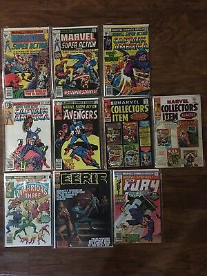 bronze age comic book lot