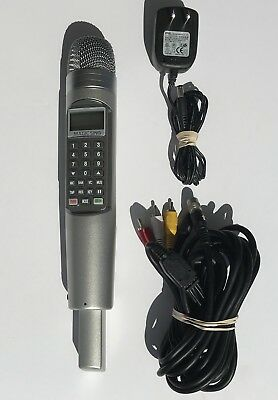 Magic Sing EnterTech Karaoke Microphone LP000012 with Cords & Tagalog 3