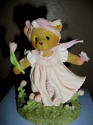 "Cherished Teddies ""Your Smile Is As Sweet As The Spring"""