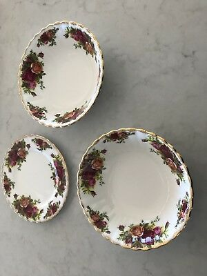 royal albert old country roses Bone China 1962 Original England Spares $20 each