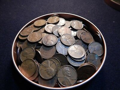 WHEAT PENNY BAG of 500 Wheat Cents, includes steels, an S