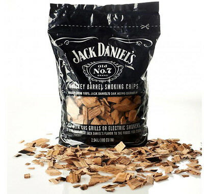 Jack Daniels Wood Smoking Chips BBQ Grilling Whiskey Flavor FREE FAST SHIPPING