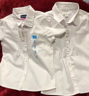 Girls Uniform Shirts Medium from The Children's Place. NWT and Free Shipping!