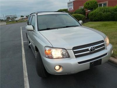 Highlander LTD 2006 Toyota Highlander Hybrid LTD 4WD 3rd Row No Reserve