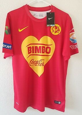 CLUB AMERICA JERSEY NEW Medium Nike Aguilas Soccer Shirt -  22.50 ... 7e0cc43e0f86