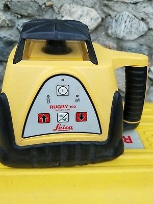 Leica Rugby 100 self leveling Rotary Laser Level