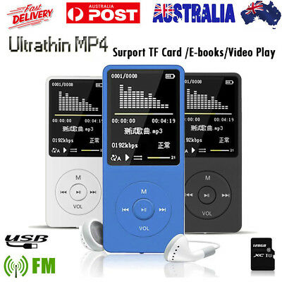 2018 70 Hours Playback MP3 MP4 Lossless Sound Music Player FM Recorder TF Card