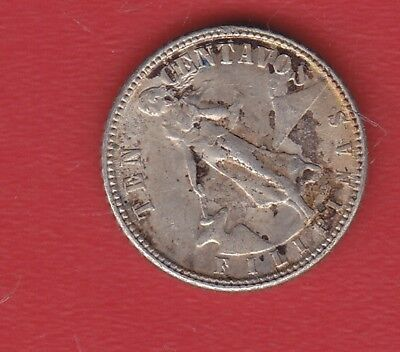 Pilipinas 10 Cents 1944 Silver