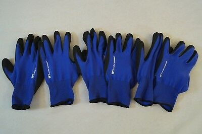3 Pairs Wells Lamont Men's Foam Latex Work Gloves Size Large