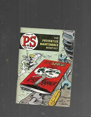 1962 Ps The Preventive Maintenance Monthly #113 Exellent