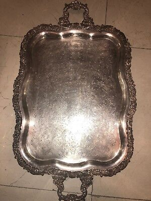 Silverplated Tray Large