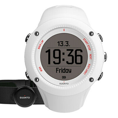 Suunto Ambit3 Run (White) & Heart Rate Sensor (AUST STK)