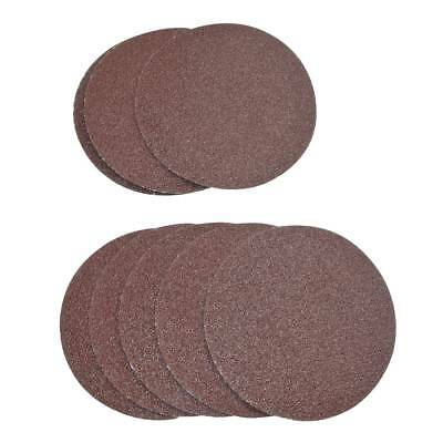 10pc 3inch (75mm) 80 Grit Sander Disc Sanding Polishing Pad Sandpaper