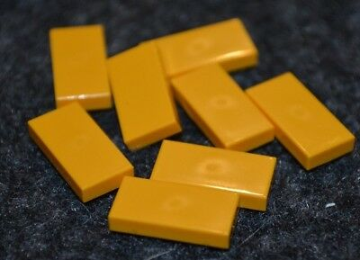 "6-2x2 Yellow Orange /""L/"" Smooth Tile Bricks ~ New Lego Parts ~"