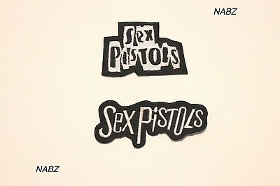 Sex Pistols DIY Heavy Metal Rock Band  Embroidery iron sew on Patch Badge