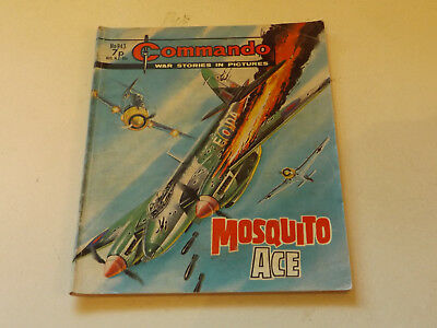 Commando War Comic Number 943!!,1975 Issue,v Good For Age,43 Years Old,v Rare.