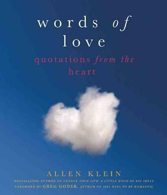 Words of Love: Quotations from the Heart by Allen Klein (English) Paperback Book