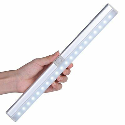 Rechargeable 20 LED Wireless Light & PIR Motion Sensor Stick-on Cabinet Lamp