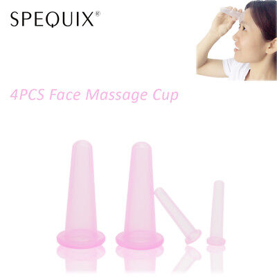 2019 Facial&Eyes Silicone Massage Cupping Anti Cellulite Vacuum Cup Therapy Kit