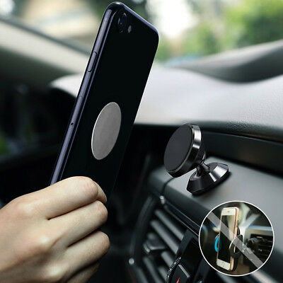 360 Degree Magnetic Car Dash Mount Ball Dock Holder For Phone Tablet