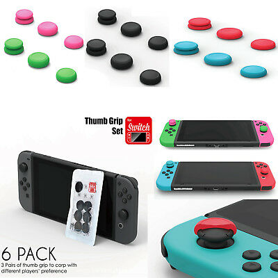 Soft TPE Button Case Cover Thumb Analog Joystick Grip Cap for NS Switch Joy-Con
