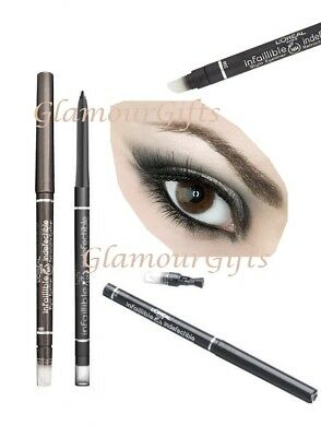 L'Oreal Infallible 16 Hour Retractable Waterproof Eyeliner Grey Obsession