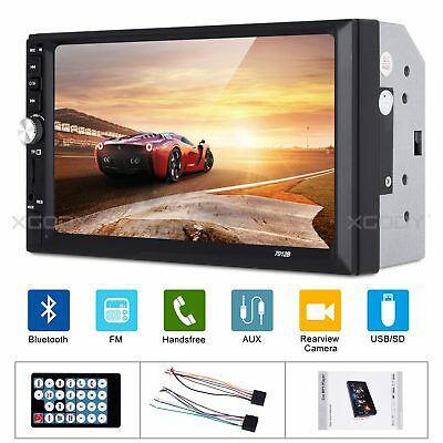"""Bluetooth 7"""" Inch 2DIN Car Stereo Radio Touch Screen MP5 MP3 Player USB Wireless"""