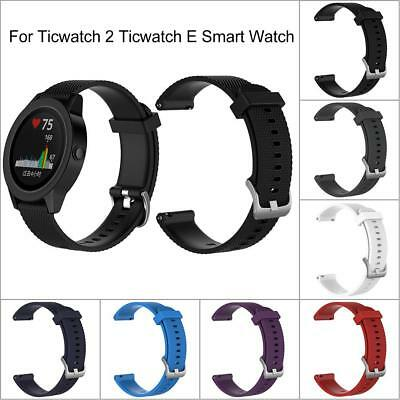 Replacement Silicone Strap Wrist Watch Band For Ticwatch2 Ticwatch E Smart Watch