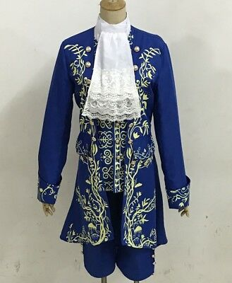 Movie Prince Beauty and The Beast cosplay costume Halloween for adult outfit