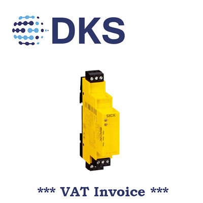 Sick UE10-2FG2D0 1043915 24VDC Safety Relay Single or Dual Channel 000970