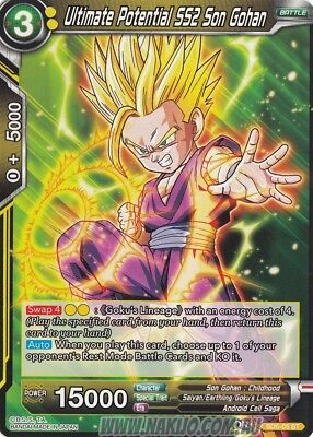 Dragon Ball Super - 1x Ultimate Potential SS2 Son Gohan - SD5-005 - ST