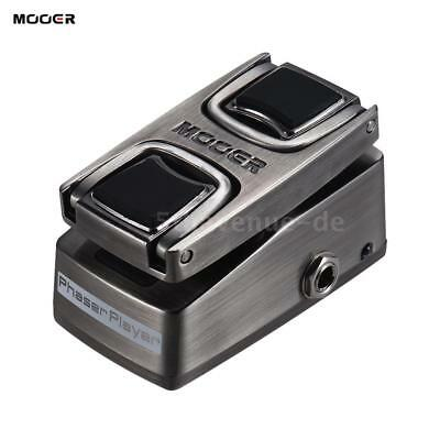MOOER Phaser Player Digitale Phaser Effektpedal Drucksensorschalter Metal Shell