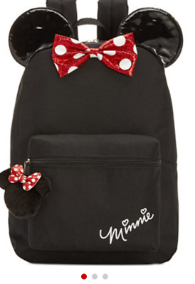 Minnie Mouse Backpack Little Big Girl New