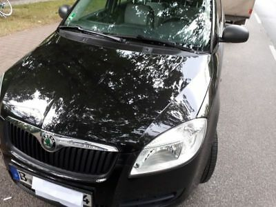 Skoda Fabia 2 1.4 Cool Edition black pearl magic Erstbesitz unfallfrei