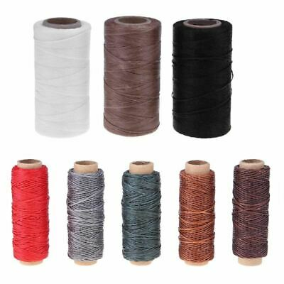 Waxed Sewing Threads 150D/16 Flat Durable Strong Bounded Nylon Leather Sewing Th